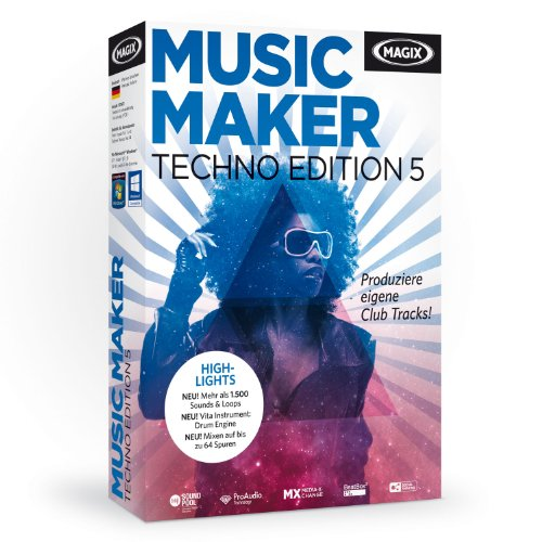 MAGIX Music Maker Techno Editon 5