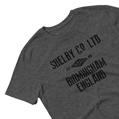 Shelby Company Buchmacher Herren T-Shirt - Inspiriert von Peaky Blinders Dark Grau