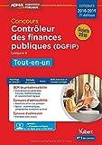 Concours Contrôleur des Finances publiques (DGFIP) - Catégorie B - Tout-en-un - Concours 2018-2019