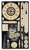 Eble Mechanische Skelettuhr mit Holzräderwerk Bausatz/Kit Langpendel Holzräderuhr- 1/50