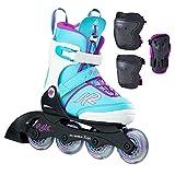 K2 Inline Skate Niño Marlee Pro Pack Inline Kate, infantil, 30C0906-1, azul claro, 29