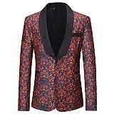 CICIYONER Männer Mantel Gedruckt Herren Mode Dashiki Strickjacke Jacke Lange Ärmel Gedruckt Mantel