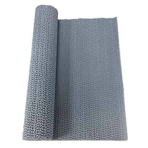KESOTO Antirutschmatte Schubladeneinlage Unterlegmatte für Küche Bad Wohnzimmer - Grau