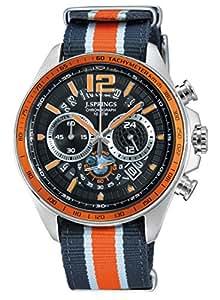 J. Springs - BFJ005 - Montre Homme - Quartz Chronographe - Chronomètre - Bracelet Nylon Multicolore