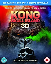 Kong: Skull Island [Blu-ray 3D + Blu-ray + Digital Download] [2017]