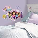 Room Studio 539065Dora und Freunde Riesen Wandtattoo 59x 74,7x 59cm