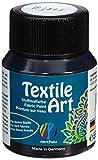 Lukas Künstlerfarben Nerchau 144706 - Textile Art Stoffmalfarbe für dunkle Stoffe, 59 ml, schwarz