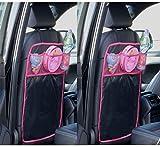 Doppelpack Rückenlehnenschutz Organizer Transparent Rosa 5,50€/Stück