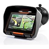 "DracoTek Terrain 4 - GPS para motos de 4.3 """