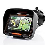 All Terrain 4,3 pouces étanche IPX7 moto GPS Navigator System 'Rage' avec...