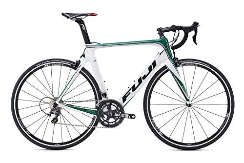 Fuji Transonic Team Replica 28pollici bici da strada Bianco/Verde (2016), unisex, Green/White, 13 - Fuji Road Bike