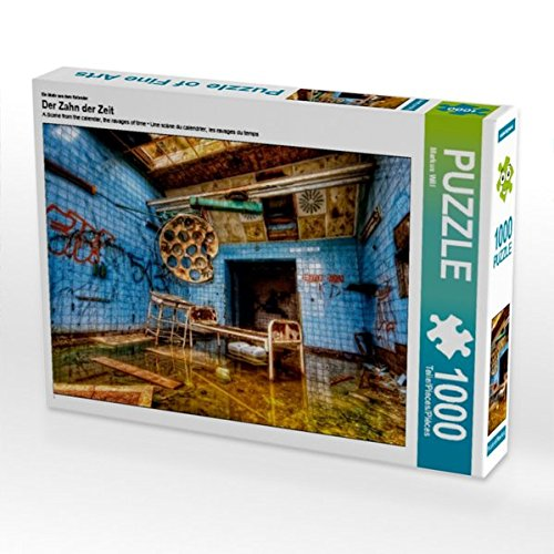 Ein Motiv aus dem Kalender Der Zahn der Zeit 1000 Teile Puzzle quer (CALVENDO Orte)