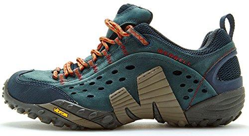 Merrell Intercept Hiking Shoes in Dark Petroleum Green J559593 [UK 11 EU 46]