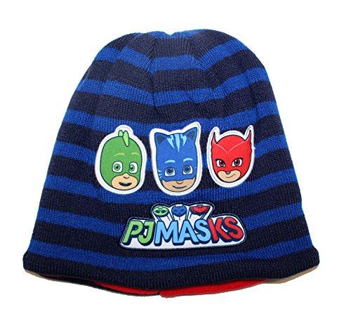 PJ Masks Wintermütze Beanie Bommelmütze Frog Box (54, Beanie-Blau) (Sofia Die Erste Handschuhe)