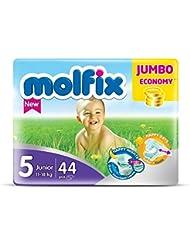 Molfix Junior/Jumbo Economie Pack de 44 Couches 11-18 kg Taille 5