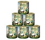 Dehner Nature Hundefutter Adult, Wild und Huhn mit Nudeln, 6 x 800 g (4.8 kg)