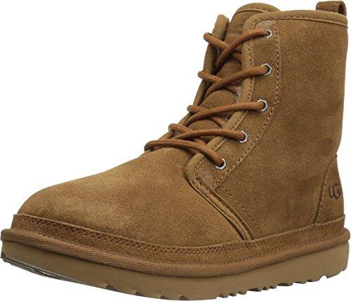 UGG F6412 scarponcino Bimbo Boy Kid Light Brown HARKLEY Scarpe Boot Shoe [33] (Uggs Boy Stiefel)