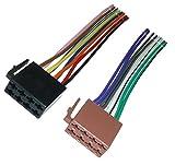 Adapter-Universe DIN ISO Adapter Kabel Lautsprecher Auto Radio 16 PIN schwarz