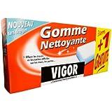 Vigor - Gomme Nettoyante - Etui de 3 Gommes + 1 gratuite