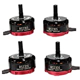 Crazepony-UK 4pcs EMAX RS2205 2300KV Brushless motori 2CW 2CCW Brushless motore for QAV250 QAV300 FPV Racing Quadcopter