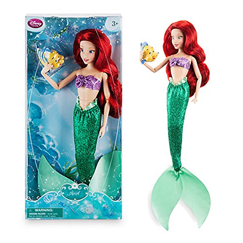 disney-store-ariel-classic-doll-with-flounder-12