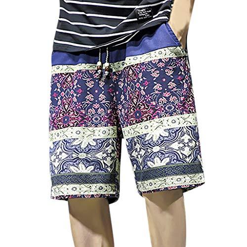 Camouflage Woven Boxer (LIGESAY Herren Shorts Gedruckt Schwimmen Trousers Frühling und Sommer Strand Surfen Shorts Bermuda Waist Camouflage Fitness Atmungsaktive Hochwertig Woven Ranger Performance Bademode)