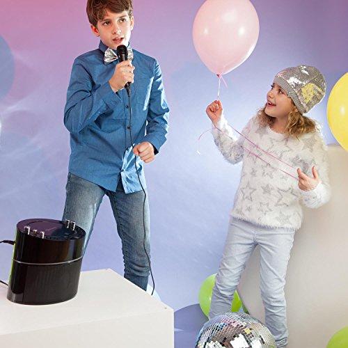 auna KS-1 Starlet • Kinder Karaoke Anlage • Karaoke Player • Karaoke Set • inkl. 1 x dynamisches Mikrofon • 2 x Mikrofonanschluss • CD+G-Player • inkl. Karaoke CD • Echo-Effekt • A.V.C. Funktion • Video- und Audio-Ausgang • programmierbar • schwarz - 2