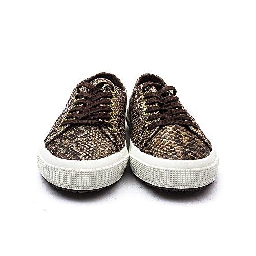 Superga  2750 Cotu Snake, Sneakers Basses adulte mixte Brun