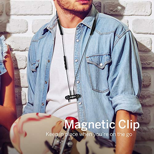 Noise Cancelling Kopfhörer TaoTronics Bluetooth 4.2 ANC In Ear Kopfhörer mit Nackenbügel und integrierten Magneten, IPX5, CVC 6.0 geräuschunterdrückendem Mems Mikrofon - 7