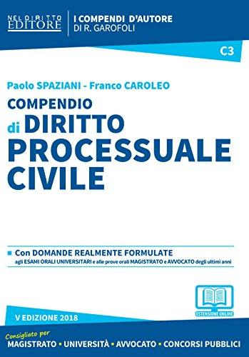 Compendio di diritto processuale civile. Con aggiornamento online
