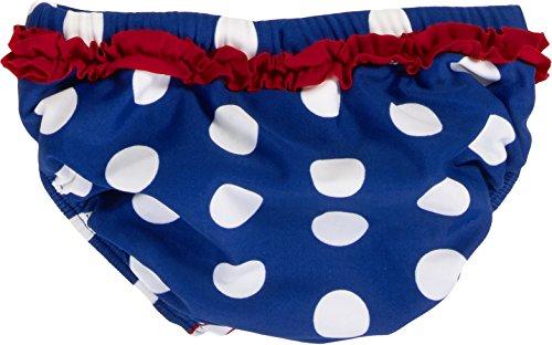 Playshoes Baby - Mädchen Schwimmwindel Badewindel Badehose Seepferdchen UV - Schutz nach Standard 801, Gr. 74 (Herstellergröße: 74/80), Mehrfarbig (original 900) -