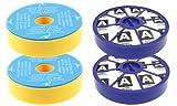 First4spares Kit de filtros premotor lavables y filtros posmotor Allergy HEPA...