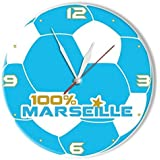 Pendule Marseille Bleue