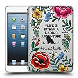 Head Case Designs Officiel Frida Kahlo Aventure Audacieuse Art Et Citations Étui Coque en Gel Molle pour iPad Mini 1 / Mini 2 / Mini 3