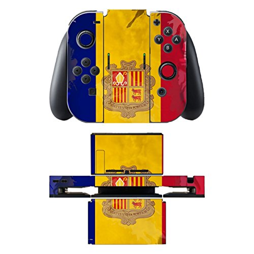 "Motivos Disagu Design Skin para Nintendo Switch + Controller + Dockingstation: ""Andorra"" 51gf 2BGC 2B4NL"