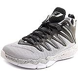 Nike Herren Jordan CP3.IX Basketballschuhe Schwarz/Silber/Grau/Gold (Blck/SLVR-WLF Mtllc Gry-Pr PLT) 41 EU