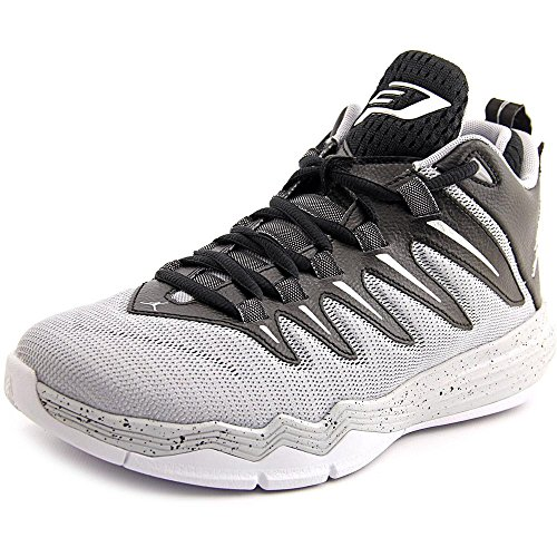 Nike Herren Jordan CP3.IX Basketballschuhe, Schwarz/Silber/Grau/Gold (Blck/SLVR-WLF Mtllc Gry-Pr PLT), 41 EU