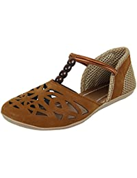 Authentic Vogue Women's Flat Covered Sandal