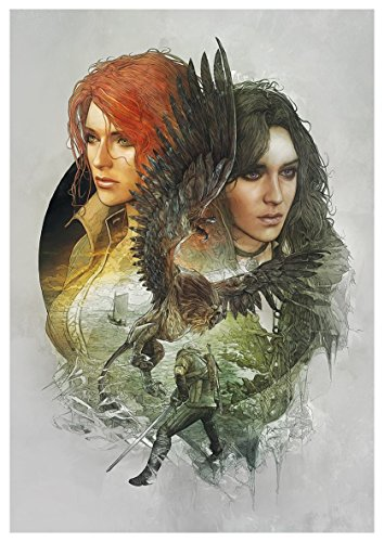 Poster The Witcher III (I) - Triss & Yennefer - A3 (42x30 cm)