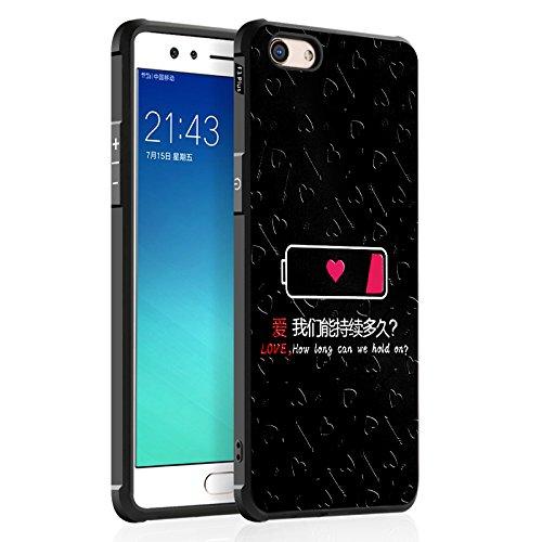 COVO® Oppo F3 Plus Hülle Festigkeit & Flexibilität Zurück Cover Style Smartphone Hülle für Oppo F3 Plus(3)