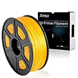 SUNLU 3D Printer Filament PLA+, 1.75mm PLA plus Filament, 3D Printing Filament Low Odor, Dimensional Accuracy +/- 0.02 mm, 2.2 LBS (1KG) Spool,Lightgold
