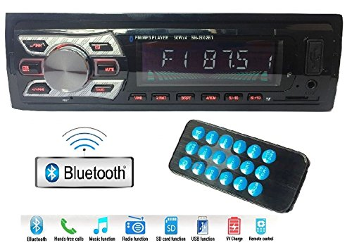 Gadget Deals 2002 Bluetooth Car Stereo Media mp3 Music System Player with Caller id Function