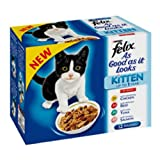 Felix As Good As It Looks Kitten Pouch Mixed Variety in Jelly Cat