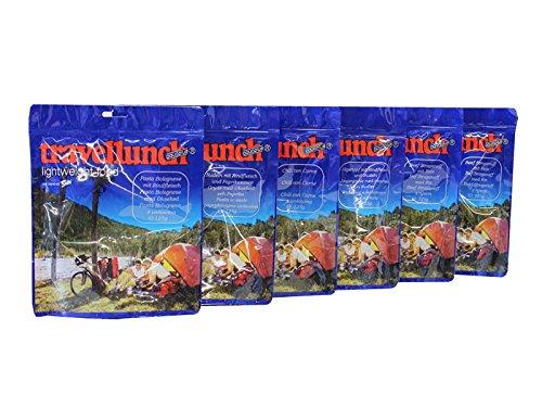 Travellunch 6 er Pack Mahlzeit Mix Fleisch Fleisch a´125 g