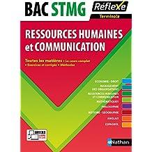 Toutes les matières Terminale STMG - Ressources humaines et Communication