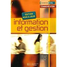 Information et gestion 1e STG communication