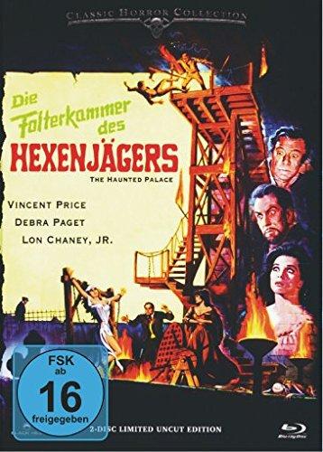 Die Folterkammer des Hexenjägers - Mediabook  (+ DVD) [Blu-ray] [Limited Edition]