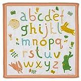 6 niño pañuelos - Modelo « Alphabeto » - 26 centimetros