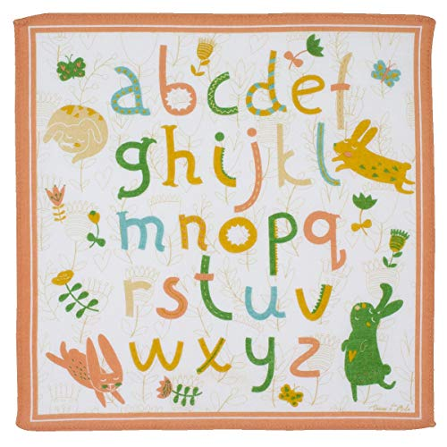 "\"" Alphabet \"" Kindertaschentücher - Ca. 26cm - 6 Stücke"