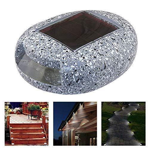 BigBig Style Lampe Für Garten Dekoration Outdoor LED Solar Power Pathway/Treppen Licht Kolophonium Gefälschte Stein IP44 Waterproo - Solar-power-outdoor-flut-licht